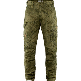 Fjällräven Barents Pro Hunting Trousers Men, green camo-deep forest